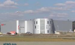 Výrobní hala a administrativní budova